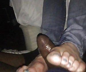 Black Footjob Videos